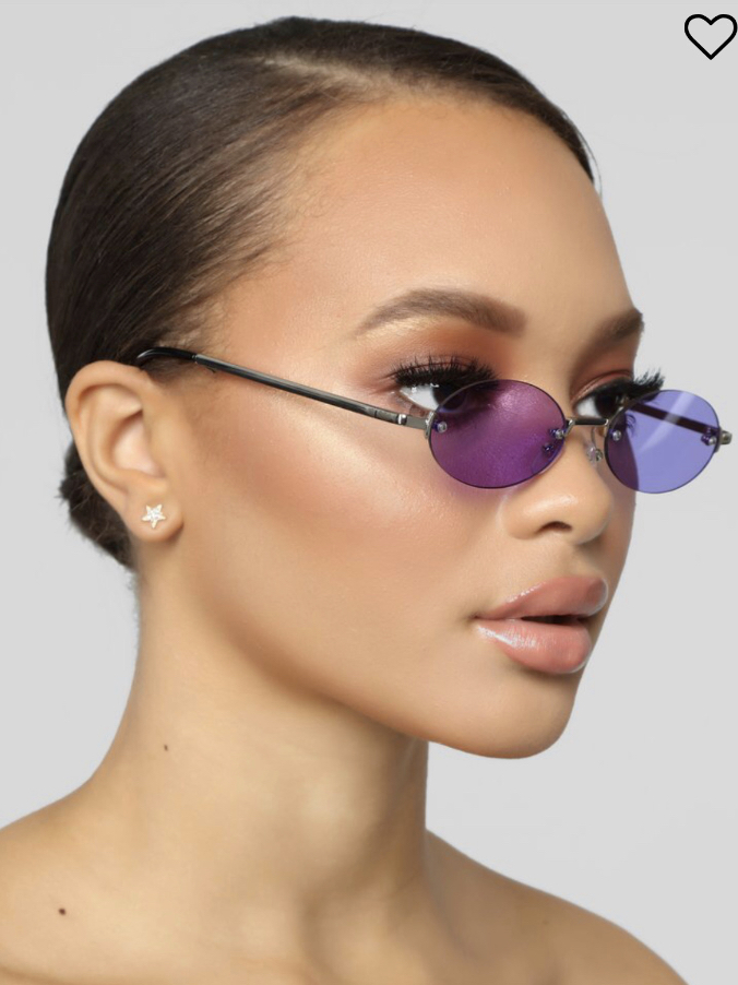Mellow, subdued, and smooth. These glasses attract attention using mystery and allure...They give whoever's looking a sneak peek into your world, while keeping them guessing.