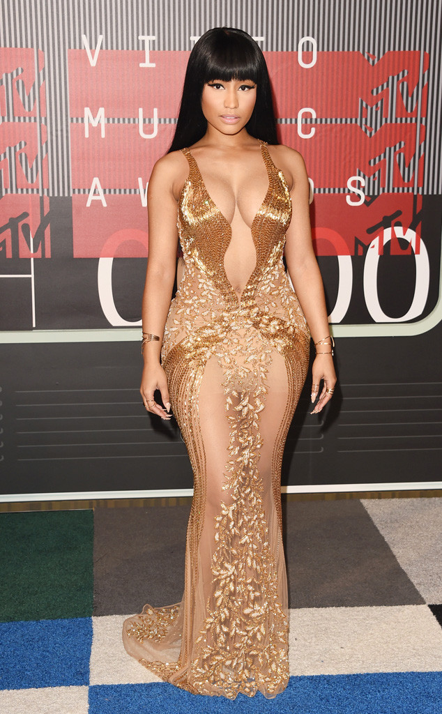 Nicki Minaj at he 2015 MTVs VMAs. (photo: eonline.com)