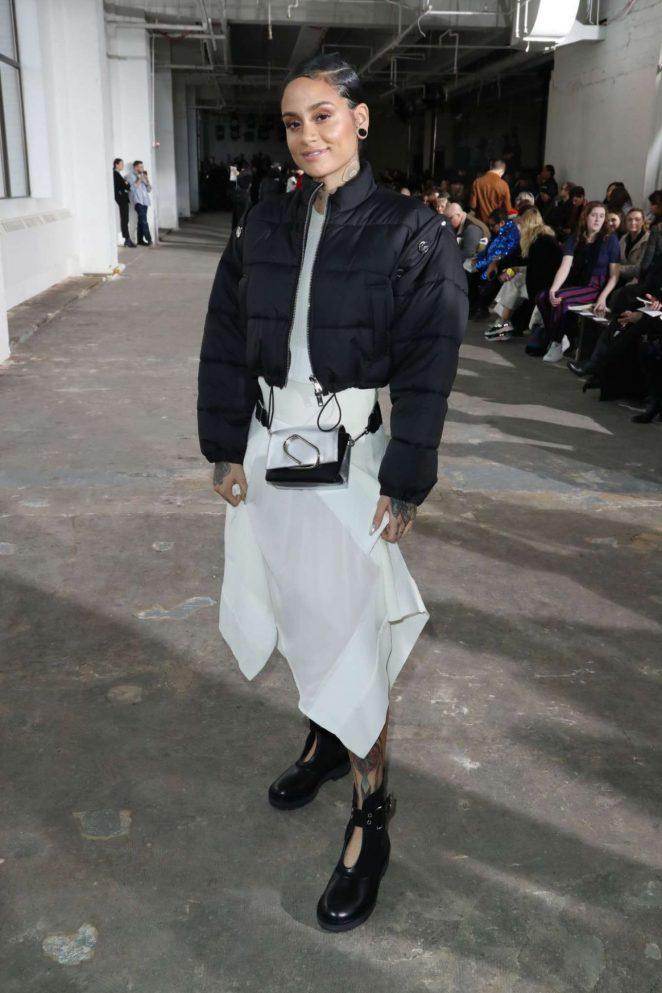 Kehlani at The 3.1 Phillip Lim Fashion Show