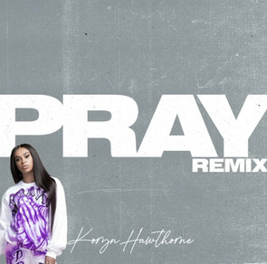 "Koryn Hawthorne Links With KB for the remix of ""Pray"""