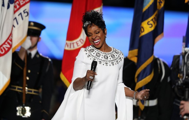 Gladys Knight was the selected artist to