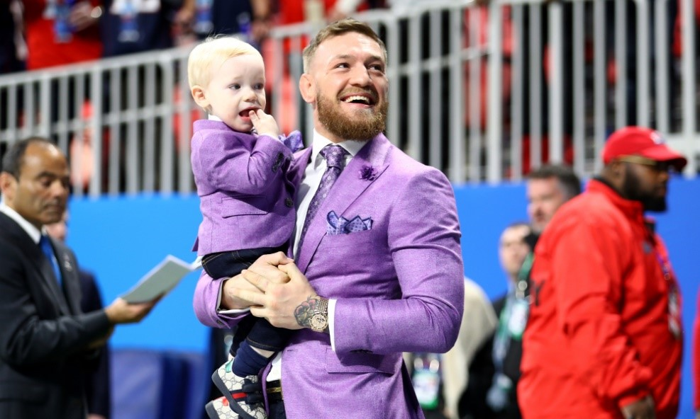 UFC Star Conor McGregor spotted with son