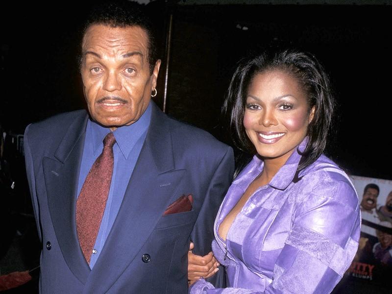 Janet Jackson & Joe Jackson