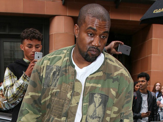 Kanye West Is Being Sued Over a Camouflage Print