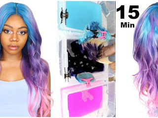 Watercolor Your Hair!