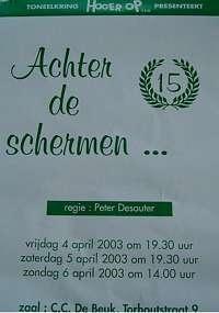 2003 voorjaar