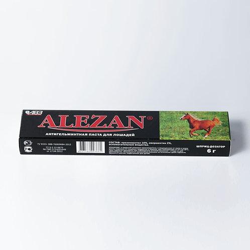 Антигельминтная паста Alezan