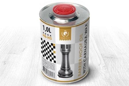 Барьерное масло для копыт с карнаубским воском ROOK, 500 мл. ChessPlaid