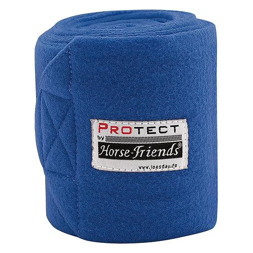 Флисовые бинты PROTECT. Королевский синий.