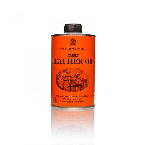 Масло для кожаных изделий. Carrs Leather Oil 300мл.