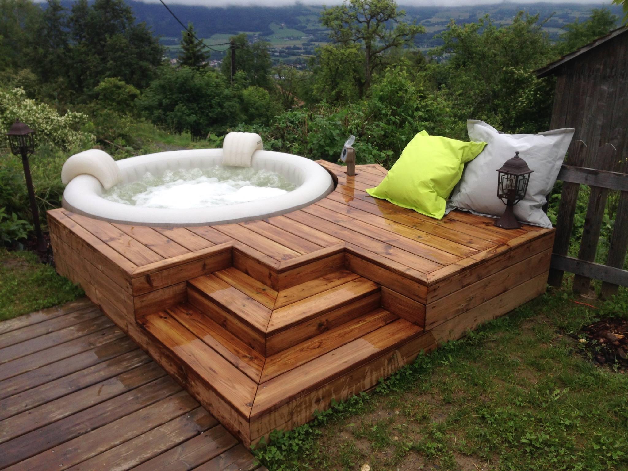 habillage terrasse SPA