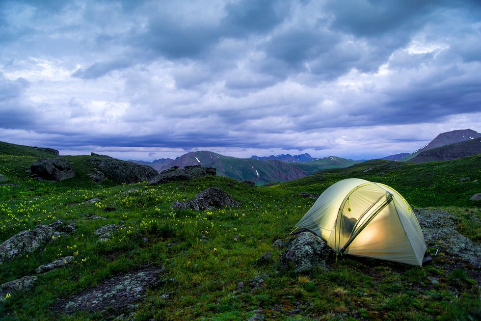 San Juans Camping