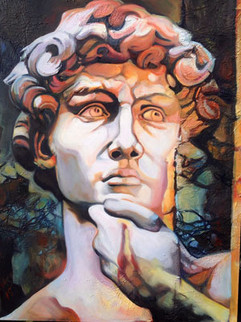 Admiration for David, 2015, 16_ x 20_