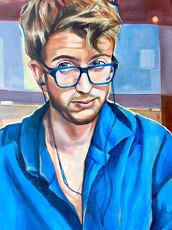 Blue Glasses Guy, 2017