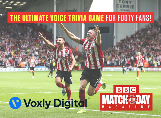 BBC Match of the Day Magazine goes Voice-First