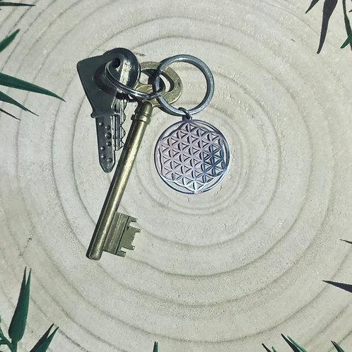 Porte-Clés Fleur de Vie