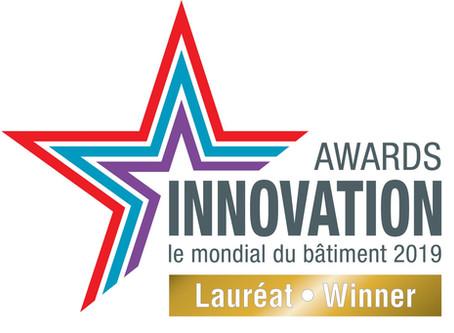 HUSSOR LAURÉAT DE L'INNOVATION AWARDS 2019