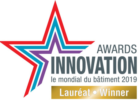 HUSSOR LAURÉAT DE L'INNOVATION AWARDS 2019