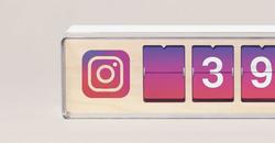 Compteur de like Instagram
