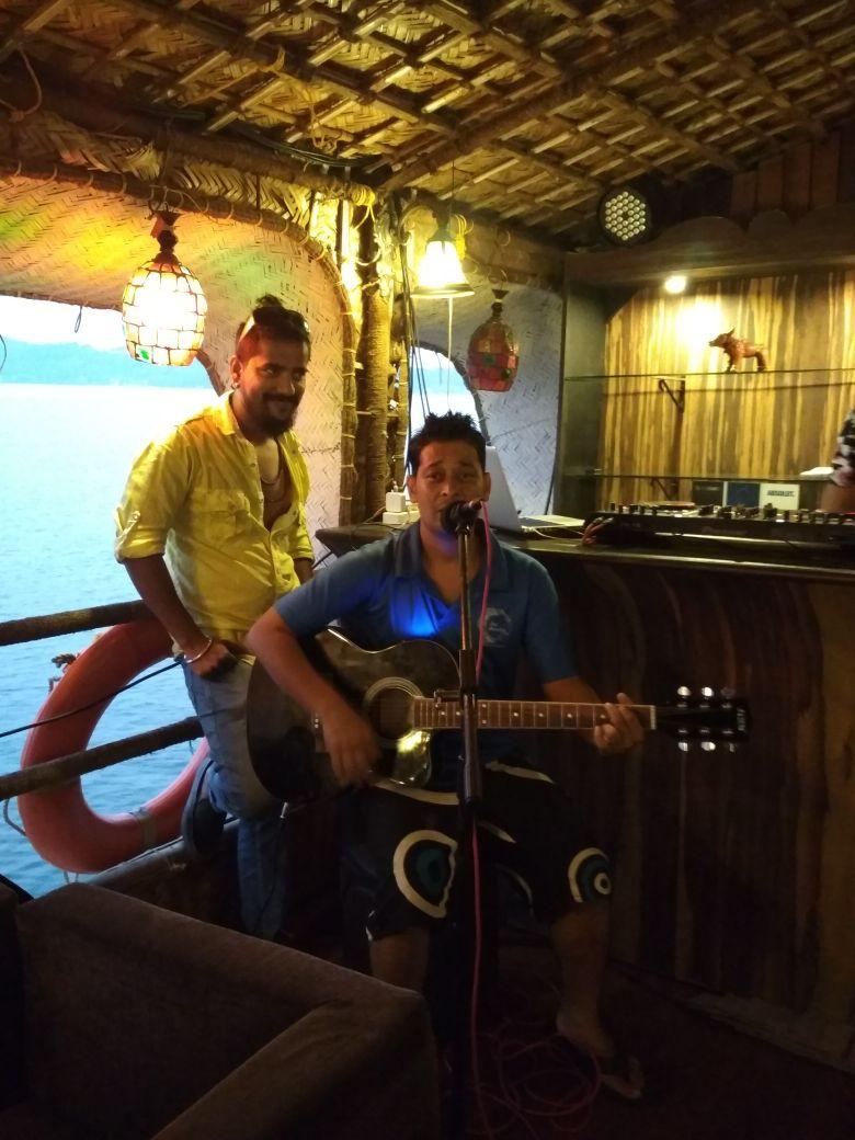 Bar Counter at Barco De Festa