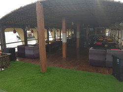 Upper Deck Of Barco De Festa