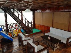 Lower Deck Of  Barco De Festa