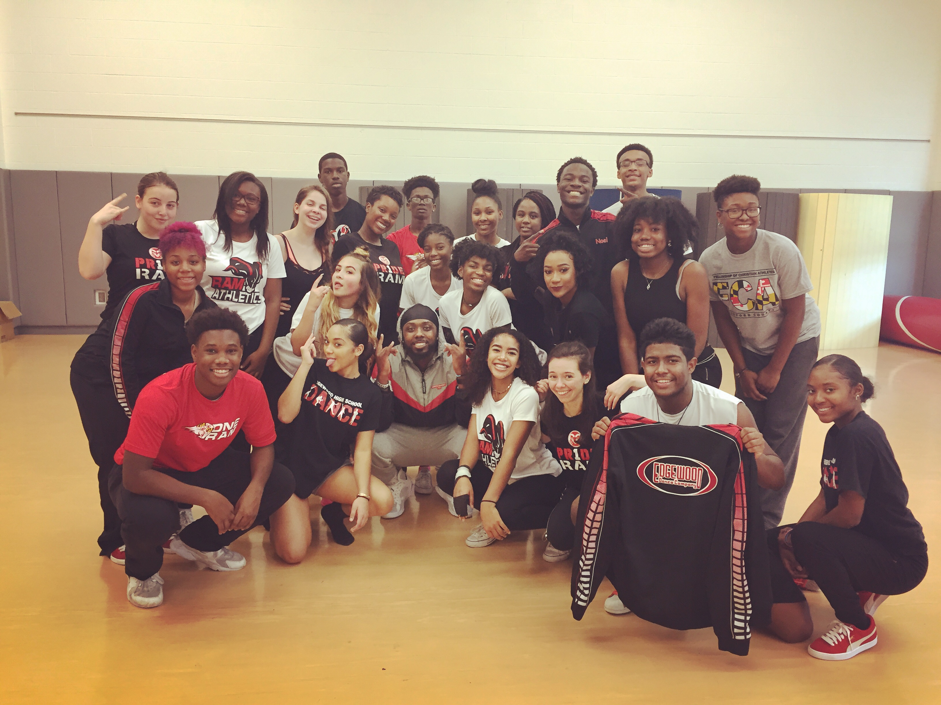Edgewood High School Dance Team