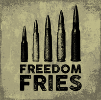 Freedom Fries Logo - Tap & Rack Apparel Co.