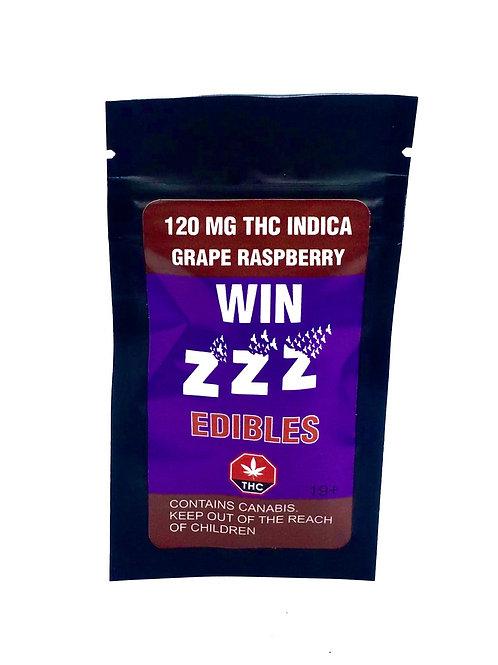 120mg Grape Raspberry Candy (1-piece)