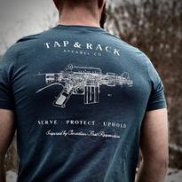 Tap & Rack AR Blueprint Tee