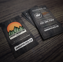 Green Mountain Business Cards