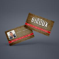 Giroux Construction Business Cards