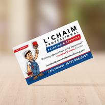 L'Chaim Business Card