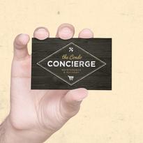 Condo Concierge Business Card