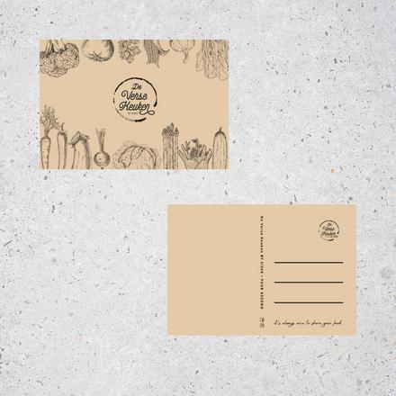 Postkaart De Verse Keuken