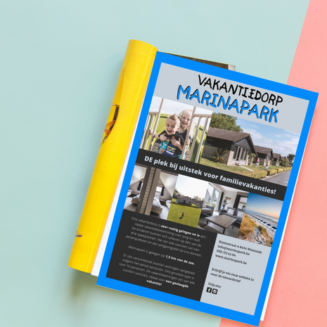 Marinapark advertentie