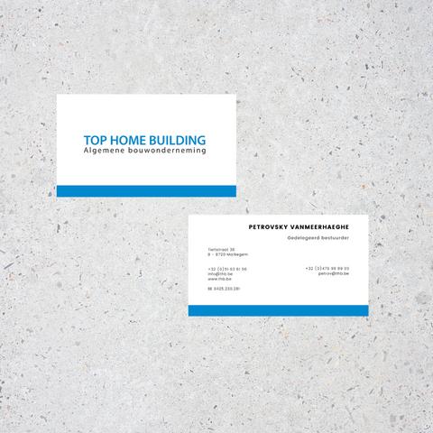 Visitekaart Top Home Building