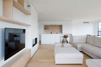 overzicht keuken en leefruimte