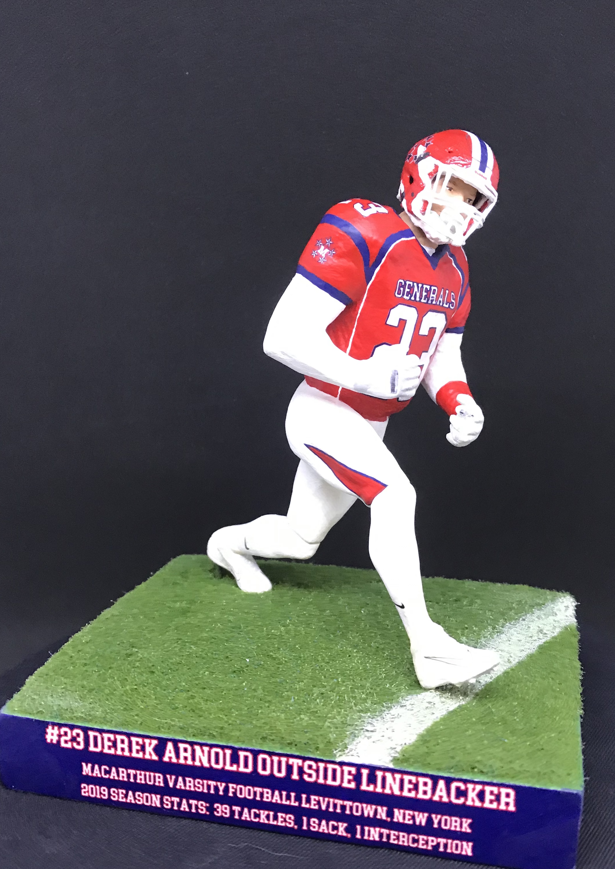 D'Avanzo custom sports figures 145