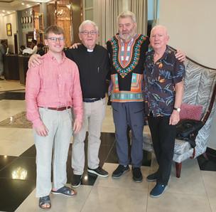 Januari 2020 reste Daniel och Lars Gunnar Sadnberg, Göran Forsell och Sture Elmäng till olika projekt i Etiopien och Tanzania