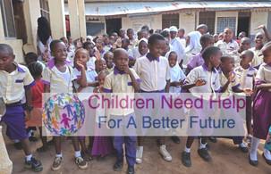 All Nations academy på Zanzibar, 120 barn i skolan som vi renoverar 2020