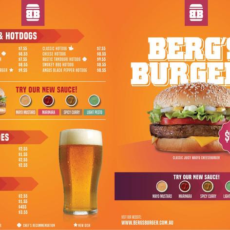 Graphics -  Berg's Burger