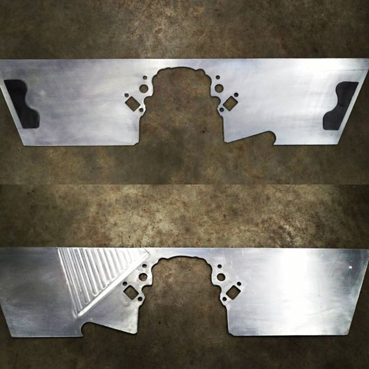 LS Engine Plate with Engine Mounts
