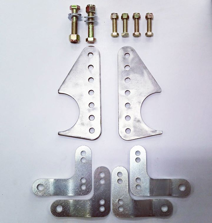Diff and Lower Shock Mount Kit