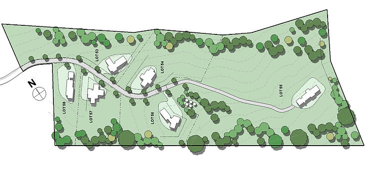 Makoha Ridge ladscaped site plan