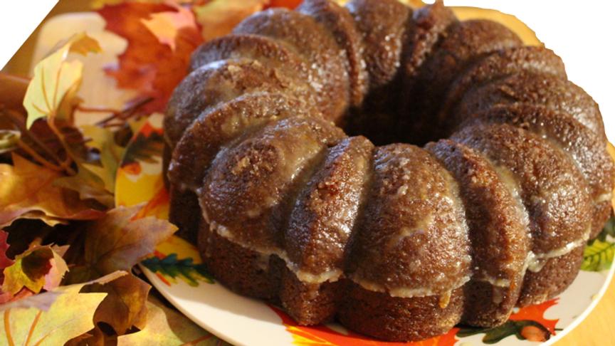 Pumpkin Spice Rum Cake