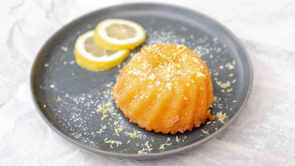 Rum Cake - Lemon (Small)