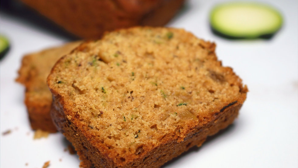 Vegan Zucchini Pineapple Bread (Small loaf)