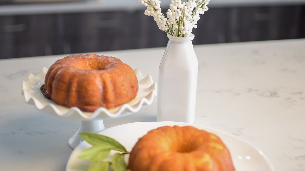 Butter Rum Cake - Small Size