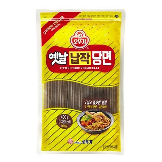 Korean Vermicelli (Wide) 400g, 오뚜기 납작당면 400g